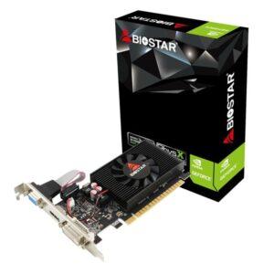 BIOSTAR VGA NVIDIA GeForce Low Profile DDR3 2GB 64bit