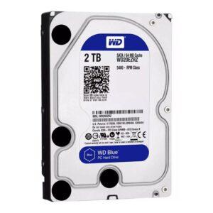 WD Blue 2TB 3.5 64MB Cache 5400RPM 6Gbs