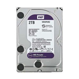 WD Purple Surveillance 3.5 2TB 64MB 5400RPM SATA III
