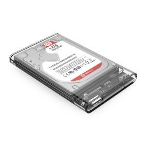 Εξωτερική Θήκη ORICO για 2.5' HDD, USB 3.0, 4TB, Διάφανη_1