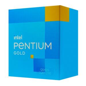 Επεξεργαστής INTEL CPU Pentium Gold G6405, 2 Cores, 4.10GHz, 4MB Cache, LGA1200