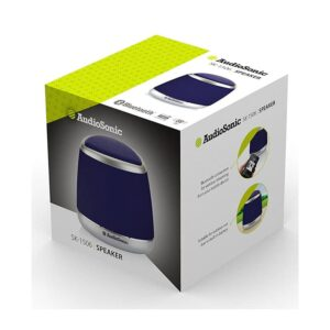AUDIOSONIC Bluetooth 3.5mm 400mAh Μπλε_1g