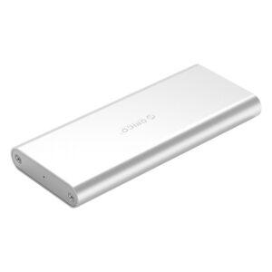 Θήκη για Μ.2 B key SSD ORICO, USB 3.0, 5Gbps, 2TB, Ασημί