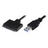 Καλώδιο POWERTECH USB 3.0 σε SATA, Copper, 0.20m, Μαύρο