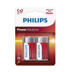 PHILIPS Power Baby C LR14 1.5V 2τμχ