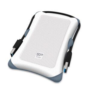 Δίσκος SILICON POWER HDD 1TB Armor A30 USB 3.1 Λευκό