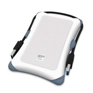Δίσκος SILICON POWER HDD 2TB Armor A30 USB 3.1 Λευκό