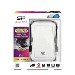 Δίσκος-SILICON-POWER-HDD-2TB-Armor-A30-USB-3.1-Λευκό