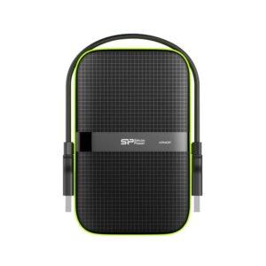 Δίσκος SILICON POWER HDD Armor A60 2TB USB 3.1 Μαύρο