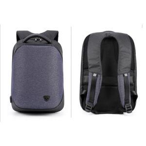 Τσάντα πλάτης ARCTIC HUNTER B00193-BL με θήκη laptop 15.6, μπλε_2