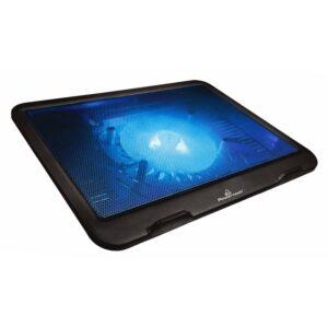 laptop POWERTECH PT 740 έως 15.6 125mm fan LED Μαύρο