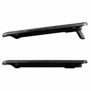 Ψύξη laptop POWERTECH έως 15.6 2x 125mm fan LED Μαύρο_1