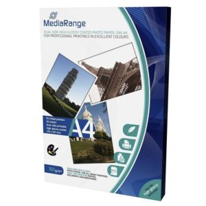 MediaRange Dual Side High Glossy A4 160gr 50 Φύλλα