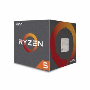 AMD Ryzen 5 2600X 3.6GHz 6 Cores AM4 19MB Wraith Spire cooler