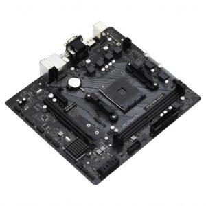 ASROCK 2x DDR4 AM4 USB 3.2 mATX