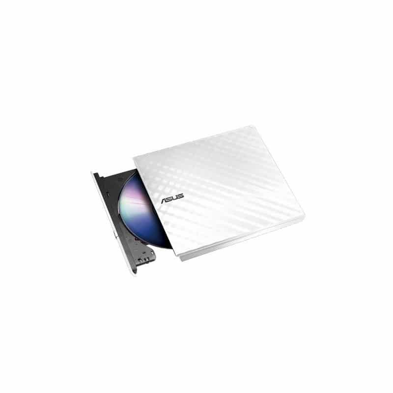 ASUS SDRW 08D2S U LITE Slim USB White External