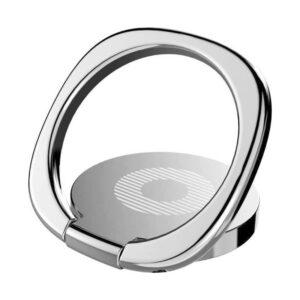 BASEUS Finger Ring Holder Symbol SUMQ 0S Ασημί