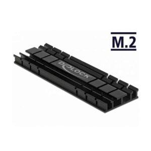 DELOCK 70 mm flat για M.2 Συσκευές Μαύρη