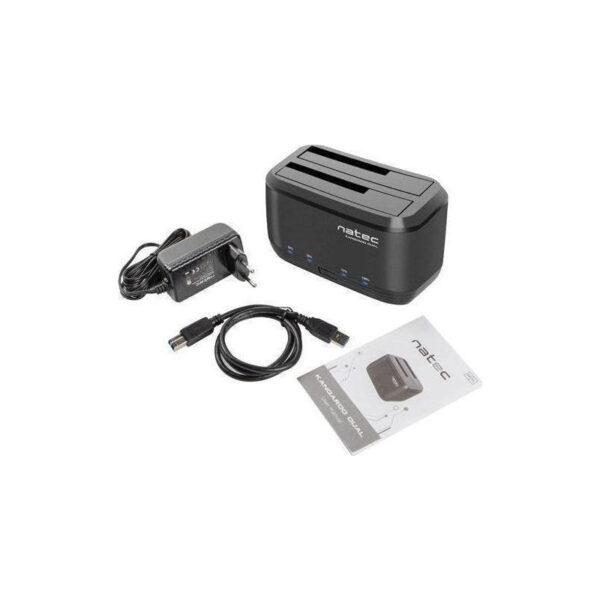 DOCKING STATION SATA HDD NATEC NSD-0955 KANGAROO DUAL USB 3.0_5