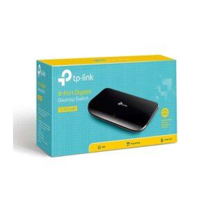 Desktop Switch TP LINK TL SG1008D 8 port 10 100 1000Mbps Ver. 8.0_2