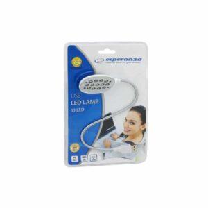 ESPERANZA USB LED Φακός για Laptop Aσημί_1