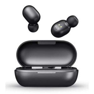 Earphones GT1 HAYLOU True Wireless Θήκη Φόρτισης Touch Control Μαύρα
