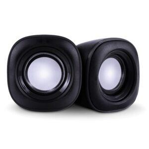 Essential Sound POWERTECH 2x 3W 3.5mm Μαύρα