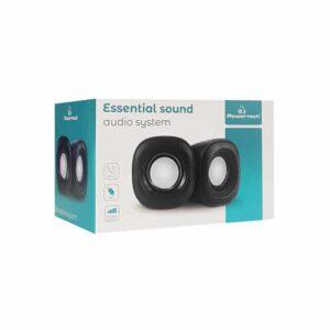Essential Sound POWERTECH 2x 3W 3.5mm Μαύρα_1