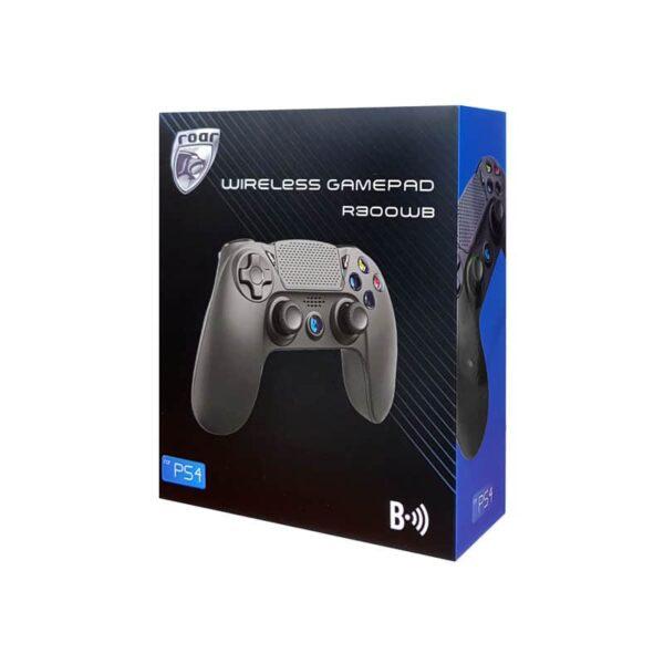 Gamepad R300WB ROAR με Vibration Bluetooth για PS4_3