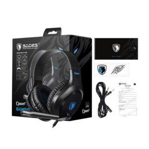 Gaming Headset SADES Cpower SA 716 BL multiplatform 3.5mm_4