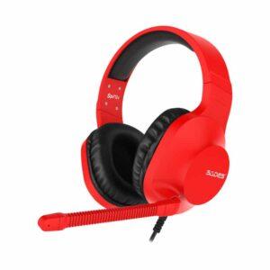 Gaming Headset SADES Spirits SA 721 Multiplatform 3.5mm Κόκκινο