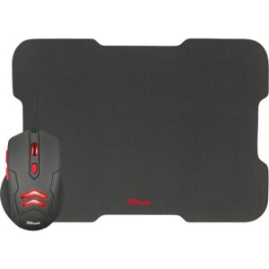 Gaming Mouse Trust Ziva With Mouse Pad