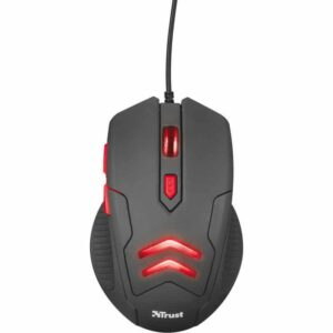 Gaming Mouse Trust Ziva With Mouse Pad_1