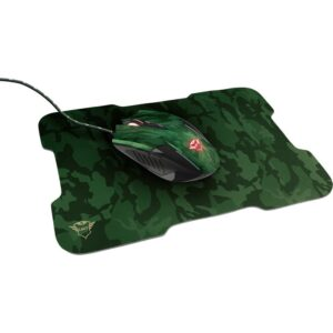 Gaming Mouse and Mouse Pad TRUST GXT 781 Rixa Camo