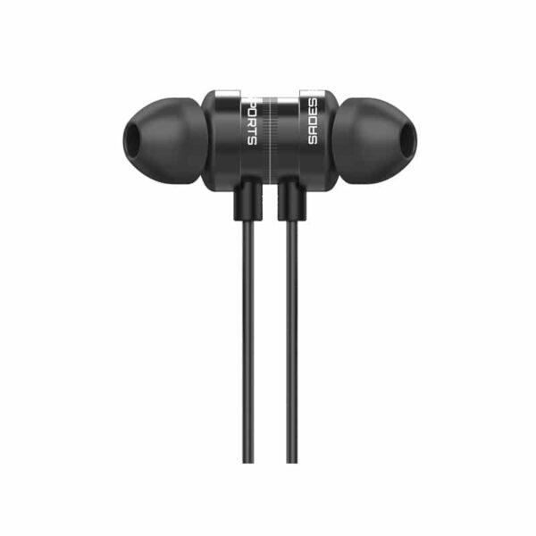 Gaming earphones SADES Wings 10 Magnetic 10mm 3.5mm Μαύρα