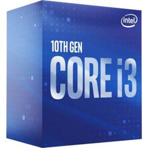 INTEL CPU Core i3 10100F BX8070110100F