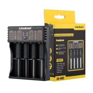 LIITOKALA LII 402 για Μπαταρίες NiMH CD Li Ion IMR 4 slots