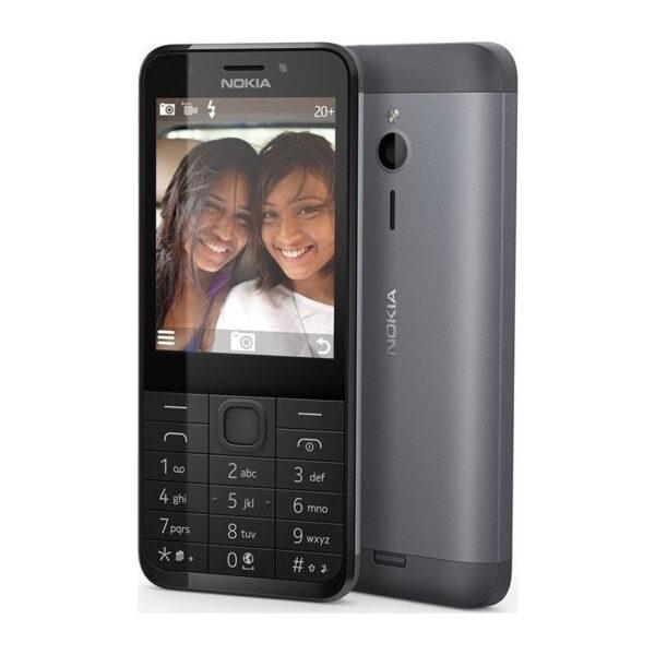 Nokia 230 Single Sim Dark Silver_1