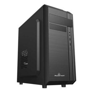 PC POWERTECH 2x USB 2.0 1x 80mm fan με PSU 500W_1