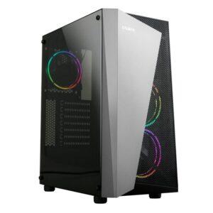 PC ZALMAN S4 Plus mid tower 3x fan Διάφανο Πλαϊνό