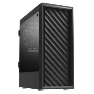 PC ZALMAN T7 mid tower 2x fan Διάφανο Πλαϊνό