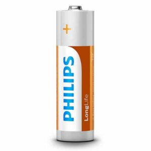 PHILIPS LongLife Zinq Chloride AA R6 Mignon 4τμχ_1