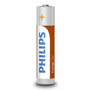 PHILIPS LongLife Zinq chloride AAA R03 Micro 4τμχ_1