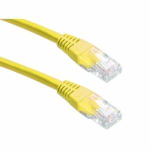 POWERTECH UTP Cat 5e CAB N058 CCA 2m Κίτρινο