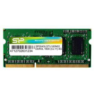 SILICON POWER DDR3L SODimm 4GB 1600MHz PC3L 12800 CL11 1.35v