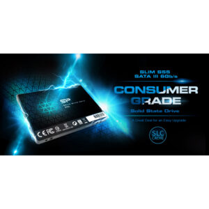 SSD SILICON POWER S55 120GB, 2.5'', SATA III, 550-420MBs, 7mm, TLC_3