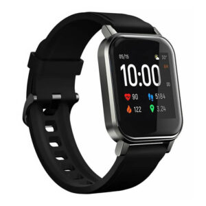 Smartwatch HAYLOU LS02, 1.4'' Έγχρωμο, IP68, Heart Rate Monitor, Μαύρο