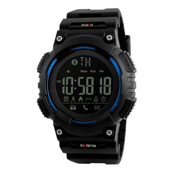 Smartwatch INTIME SW-V02, Pedometer, Remote Camera, Αδιάβροχο