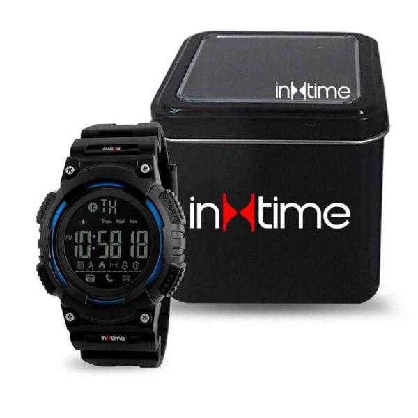 Smartwatch INTIME SW-V02, Pedometer, Remote Camera, Αδιάβροχο_1