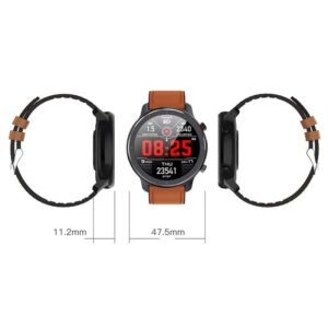Smartwatch L11 ΙΝΤΙΜΕ 1.3 Έγχρωμο IP68 HR Blood Pressure Μαύρο_1